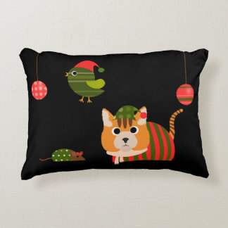 Christmas Critters Accent Pillow