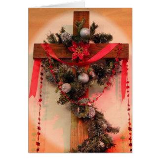 Christmas Cross Card
