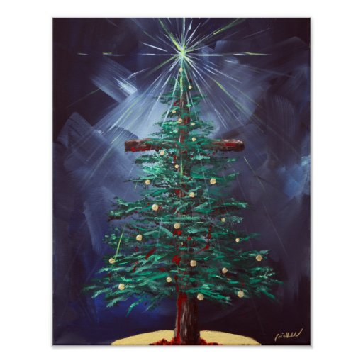 Story Behind Christmas Tree: Christmas Cross (Christmas Tree) Poster
