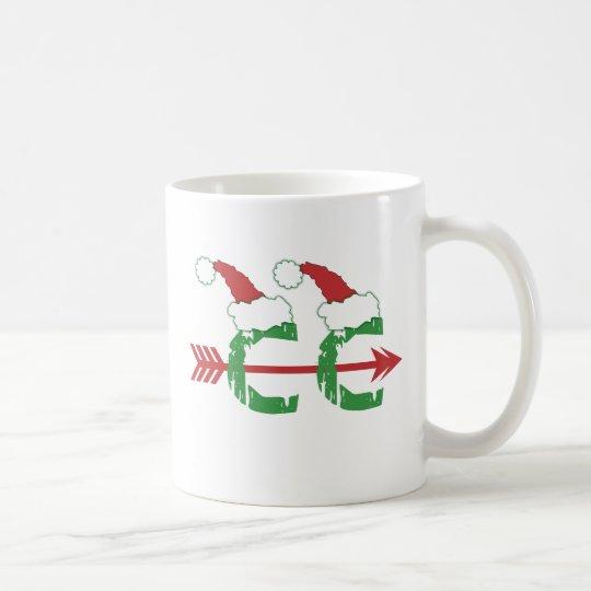 Christmas Cross Country Running © Coffee Mug
