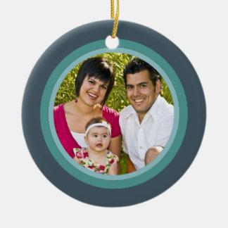 Christmas Cross Family Photo Ornament