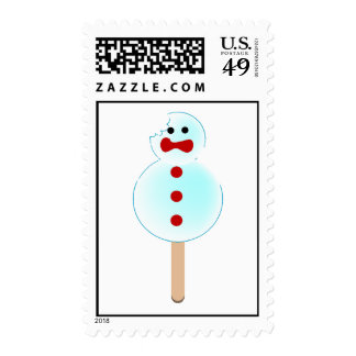 Christmas Crunch Postage Stamp