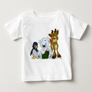 Christmas Cubs Baby T-Shirt