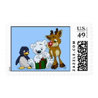 Christmas Cubs Postage