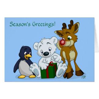 Christmas Cubs, Season's Greetings! Card