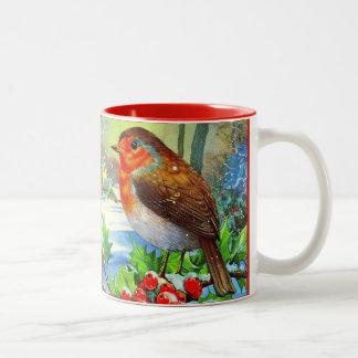 Christmas Cup Bird Watcher Gift Personalize Mug