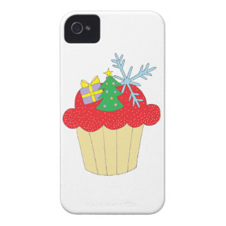 Christmas Cupcake Case-Mate iPhone 4 Cases