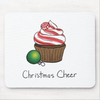 Christmas Cupcake Mouse Pad