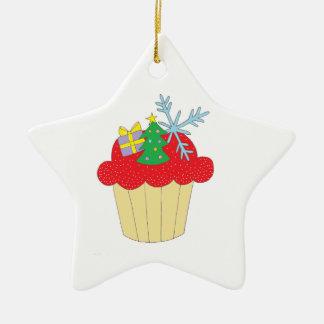 Christmas Cupcake Ornaments