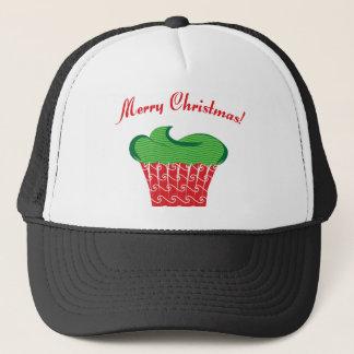 Christmas Cupcake Trucker Hat