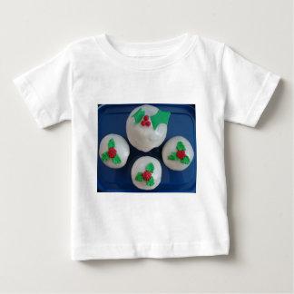 Christmas Cupcakes Baby T-Shirt