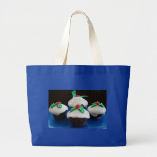 Christmas Cupcakes Canvas Bags