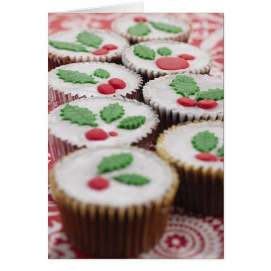 Christmas cupcakes card