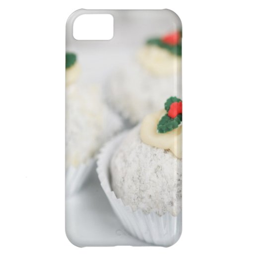 Christmas Cupcakes Cover For iPhone 5C