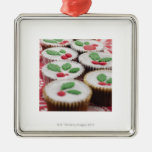 Christmas cupcakes ornament