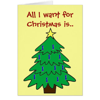 Christmas Cure Greeting Card