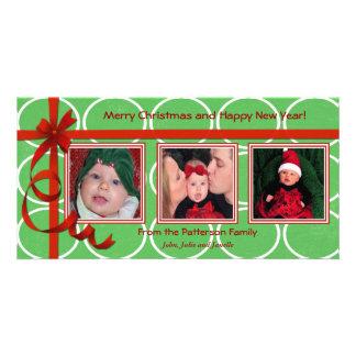 Christmas Curls Triple Treasure Card