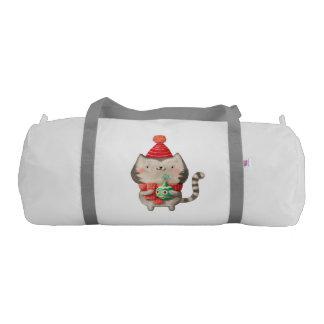 Christmas Cute Cat Duffle Bag