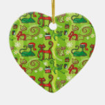 Christmas Cute Cats Christmas Tree Ornaments