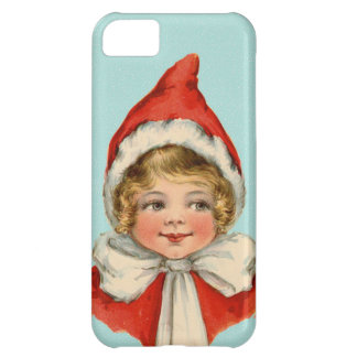 Christmas Cute Vintage Elf Girl Cover For iPhone 5C