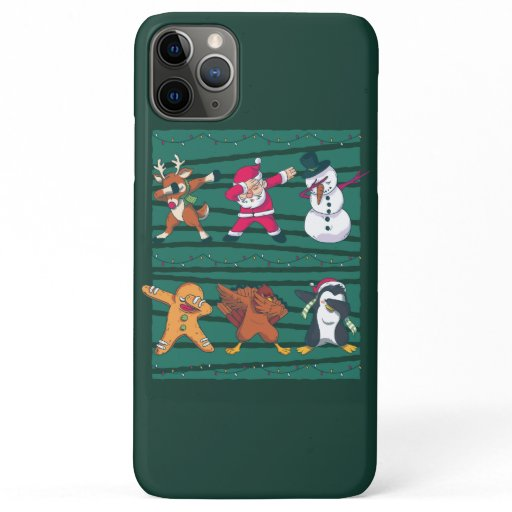 Christmas Dab iPhone 11 Pro Max Case