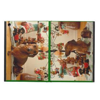 Christmas Dachshund Case For iPad Air