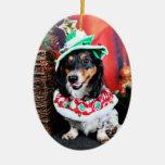 Christmas - Dachshund - Phoenix Ornaments
