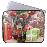Christmas - Dachshund - Tanner Computer Sleeves