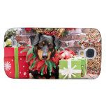 Christmas - Dachshund - Tanner Galaxy S4 Cover