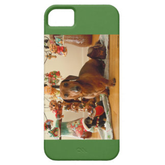 Christmas Dachshund (Ver.1) iPhone 5 Case-Mate