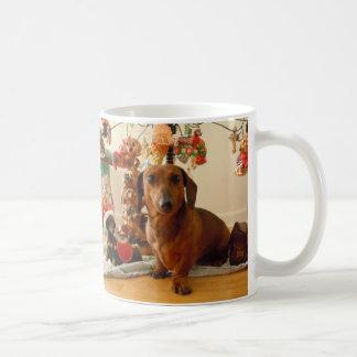 Christmas Dachshund (Ver.1) Mug