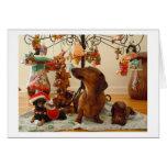 Christmas Dachshund (Ver.2) Card