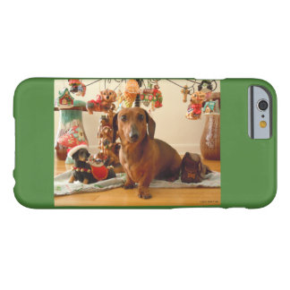 Christmas Dachshund (Version 1) Barely There iPhone 6 Case