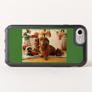 Christmas Dachshund (Version 1) Speck iPhone Case