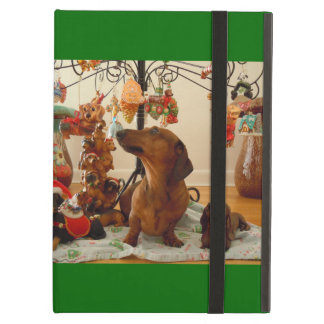Christmas Dachshund (Version 2) Case For iPad Air