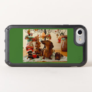 Christmas Dachshund (Version 2) Speck iPhone Case