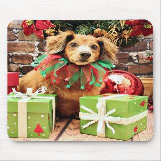 Christmas - Dachsund - Heidi Mouse Pad