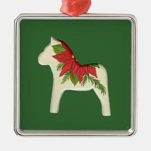 Christmas Dala Horse Ornament
