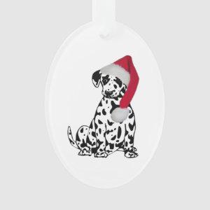 Christmas Dalmatian Ornament