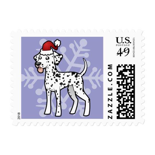 Christmas Dalmatian Postage