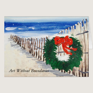"""Christmas Dawn"" Greeting Card"