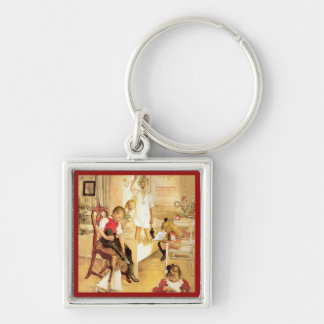 Christmas Day 1894 Key Chain
