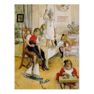 Christmas Day 1894 Postcard