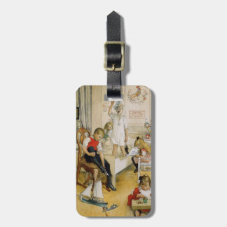 Christmas Day in the Nursery 1894 Bag Tag