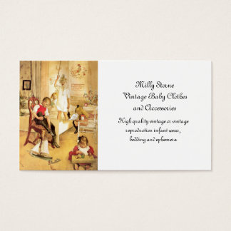 Christmas Day in the Nursery Business Card