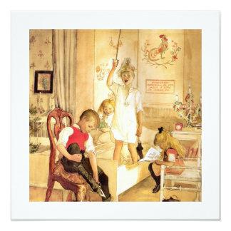 Christmas Day in the Nursery Card