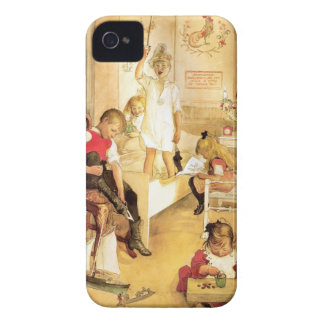 Christmas Day in the Nursery iPhone 4 Cover