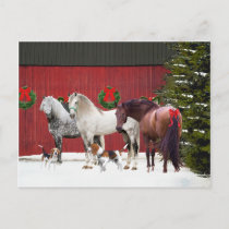 """""""Christmas Day"""" Postcard"""