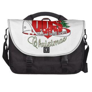 CHRISTMAS DDS Doctor of Dental Surgery Commuter Bag