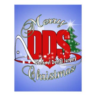 CHRISTMAS DDS Doctor of Dental Surgery Letterhead